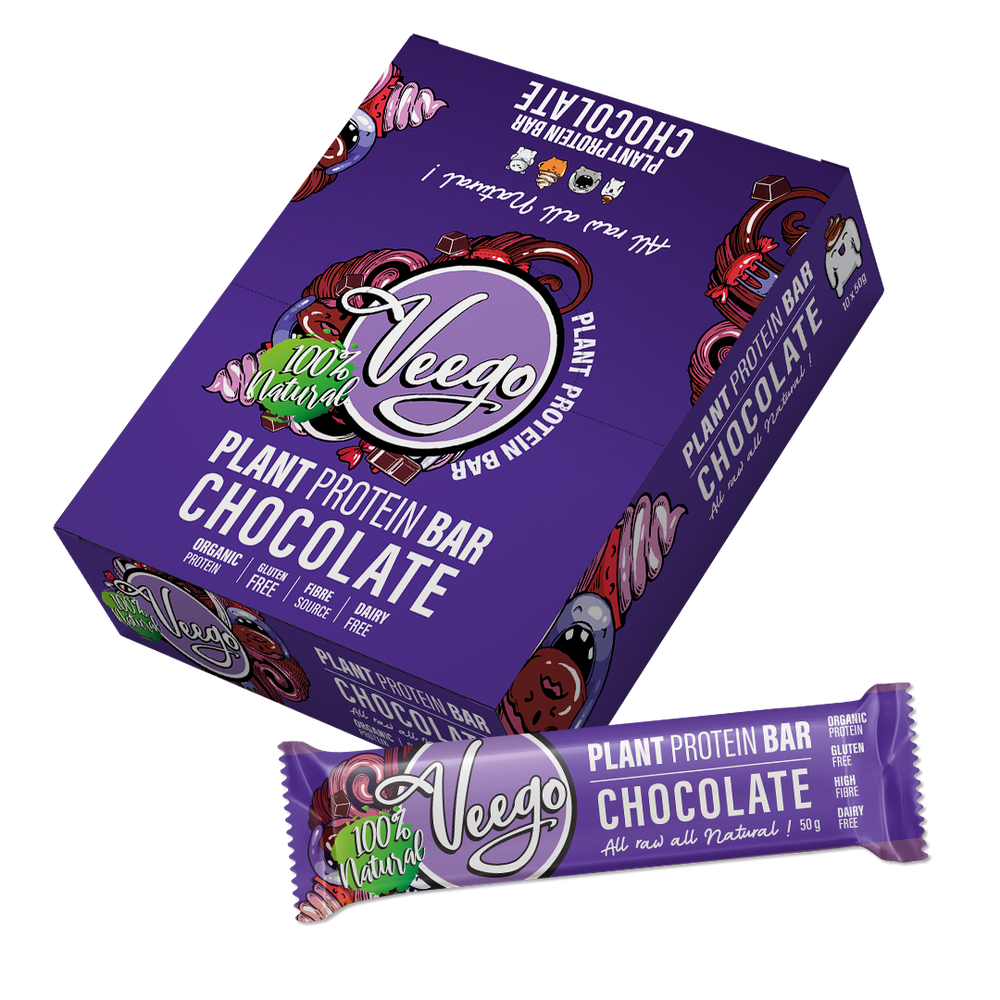 Chocolate Veego Plant Protein Bar