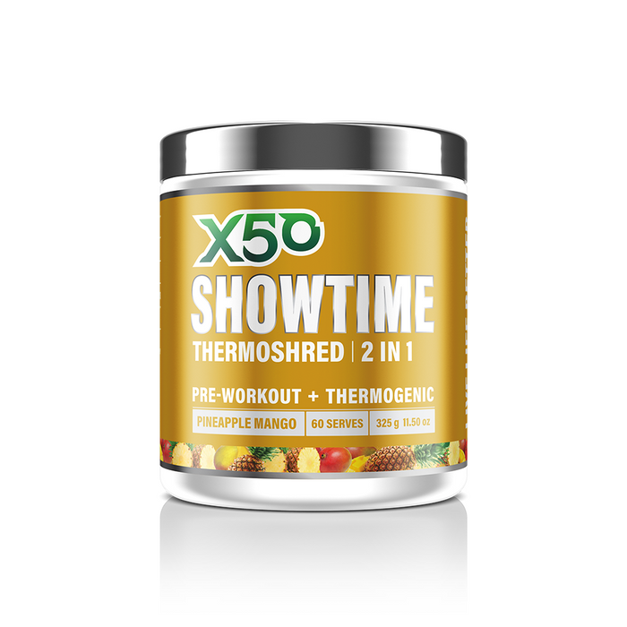 SHOWTIME THERMOSHRED 2 in 1 Fat Burner & Pre Workout