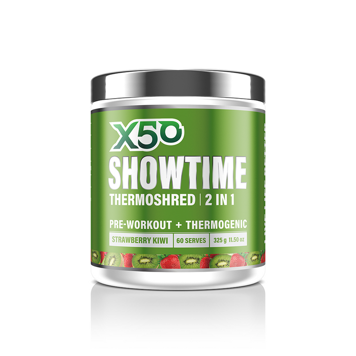 Showtime Thermoshred by X50