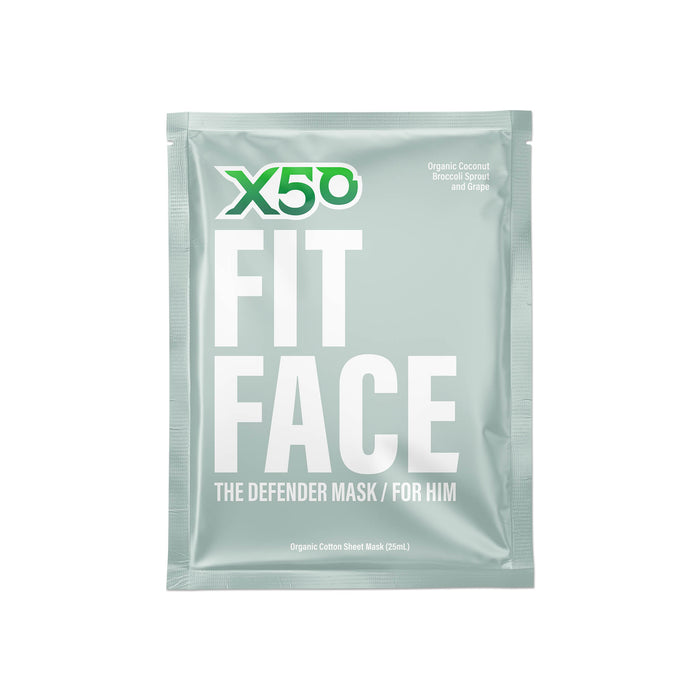 X50 Fit Face Sheet Mask