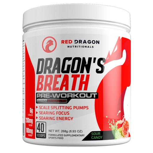 Dragon's Breath Pre-Workout by Red Dragon Nutritionals