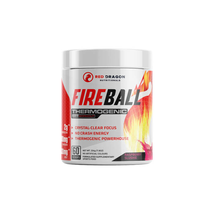 Fireball Thermogenic Red Dragon Nutritionals 60 Serves