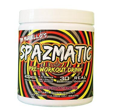 Spazmatic Pre Workout by Tim Muriello - Pre Workouts - WholeSupps Online Mega Store