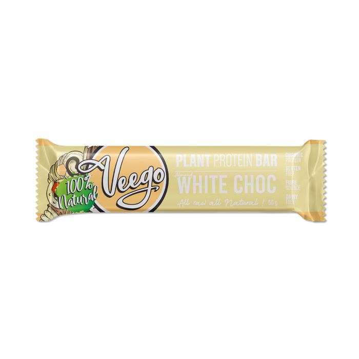 White Choc Veego Plant Protein Bar