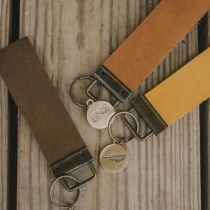KB Leather Key Fob