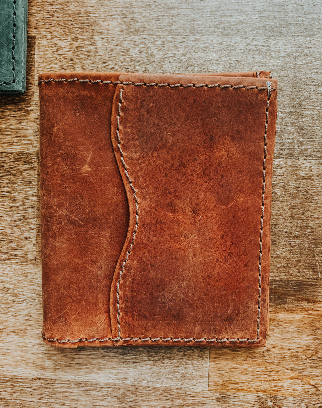 Men's Bi-Fold Wallet no license window
