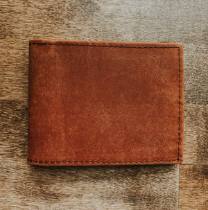 Men's Bi-Fold Wallet / License Window