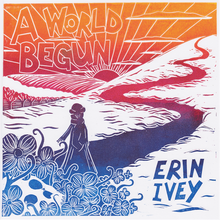 "Load image into Gallery viewer, Discount! ""A World Begun"" Holographic Sticker + mp3"