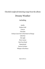 Load image into Gallery viewer, Dreamy Weather Chorded Songbook (Instant Download)