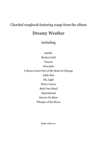 Dreamy Weather Chorded Songbook (Instant Download)