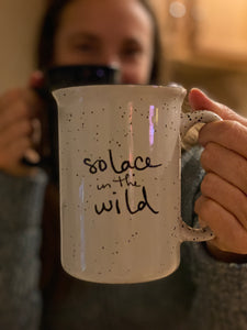 Solace in the Wild mugs have exceptional handfeel.