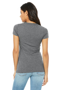 Solace in the Wild gray ladies tshirt back