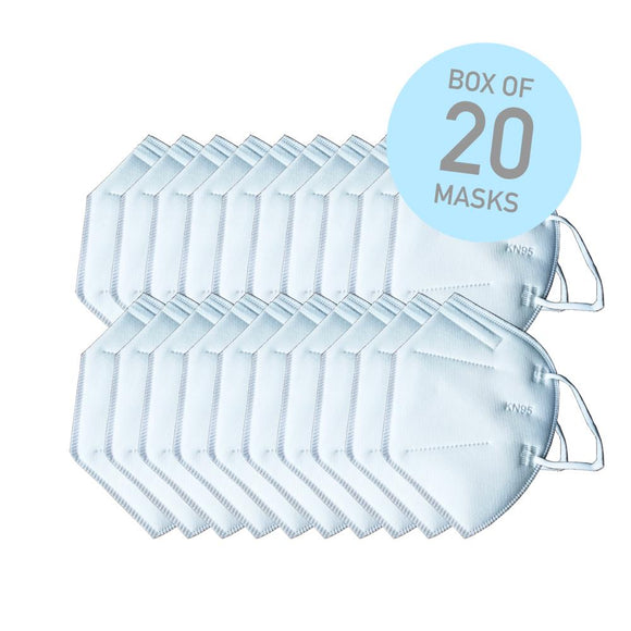 KN95 Face Masks 20pc - Ships In 24 Hours