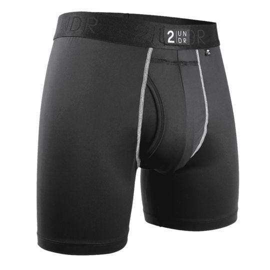 2UNDR Underwear 2UNDR - POWER SHIFT BOXER BRIEF - Black