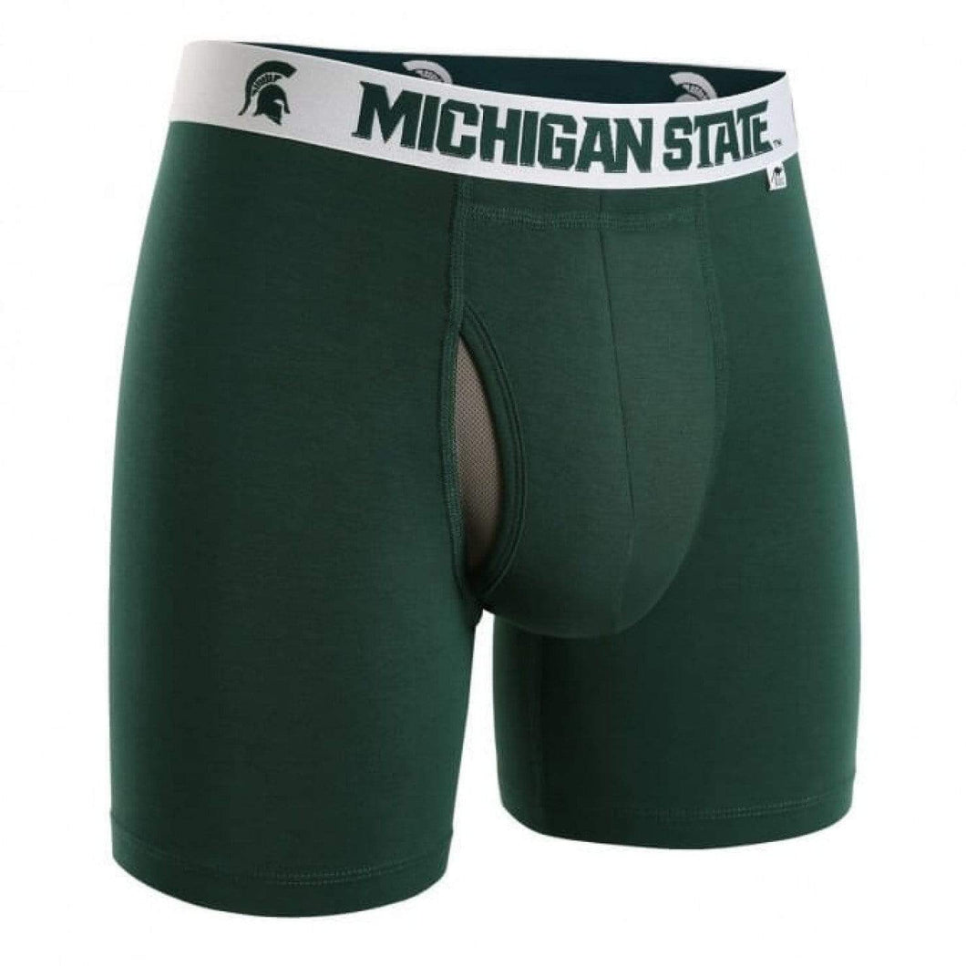2UNDR Underwear 2UNDR - SWING SHIFT BOXER BRIEF - NCAA - Michigan State