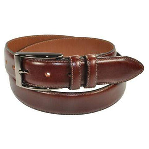 Bench Craft belts 30 / Burgandy Bench Craft Classic 3558 Dress Belt - Made in Canada - 5 colors