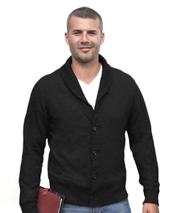 Redwood Classics Casual Sweaters Medium / Black Redwood Classics - Heritage Collection - Hector Cardigan - W1412