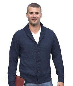 Redwood Classics Casual Sweaters Medium / Cadet Blue Redwood Classics - Heritage Collection - Hector Cardigan - W1412