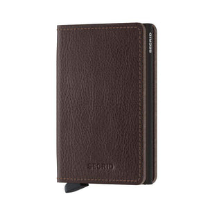 Secrid Wallets Espresso-Brown SECRID - Slimwallet - Veg