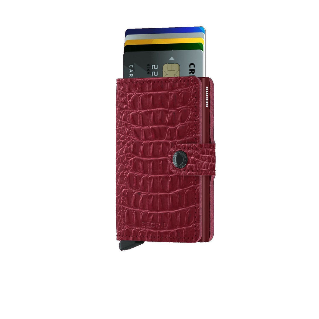 Secrid Wallets Ruby SECRID - Miniwallet - Nile