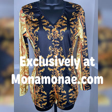Load image into Gallery viewer, High Class Sleepwear Romper Pajamas