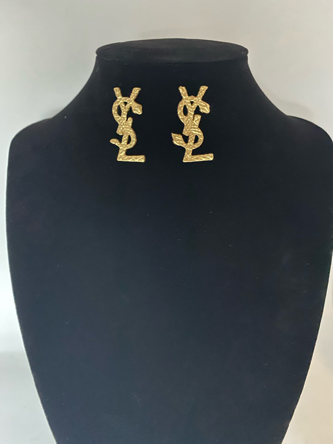 YSL Gold Earrings