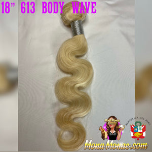"Imported Peruvian (14-28"")  613 Body Wave Virgin Hair Bundles"