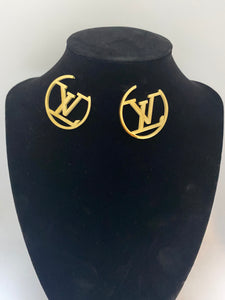 LV Hoops Gold Earrings