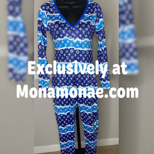 High Class Sleepwear Pajamas XXXL