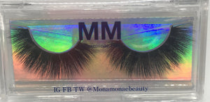 Natural/Bushy Mink AH31T (15-18mm)