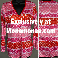 Load image into Gallery viewer, High Class Sleepwear Romper Pajamas XXXL