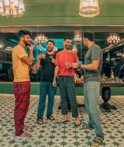 Comfy Combed Cotton Pyjamas For Men Online In India | XYXX Apparels