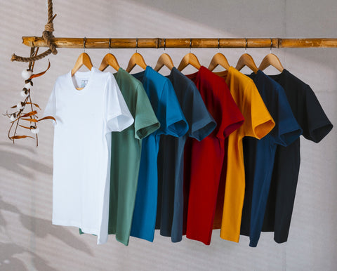 Earth 1.0 Collection of Organic Cotton T-shirts by XYXX