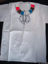 Load image into Gallery viewer, White Masai shirt