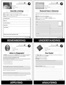 Reading Response Forms - Grades 5-6