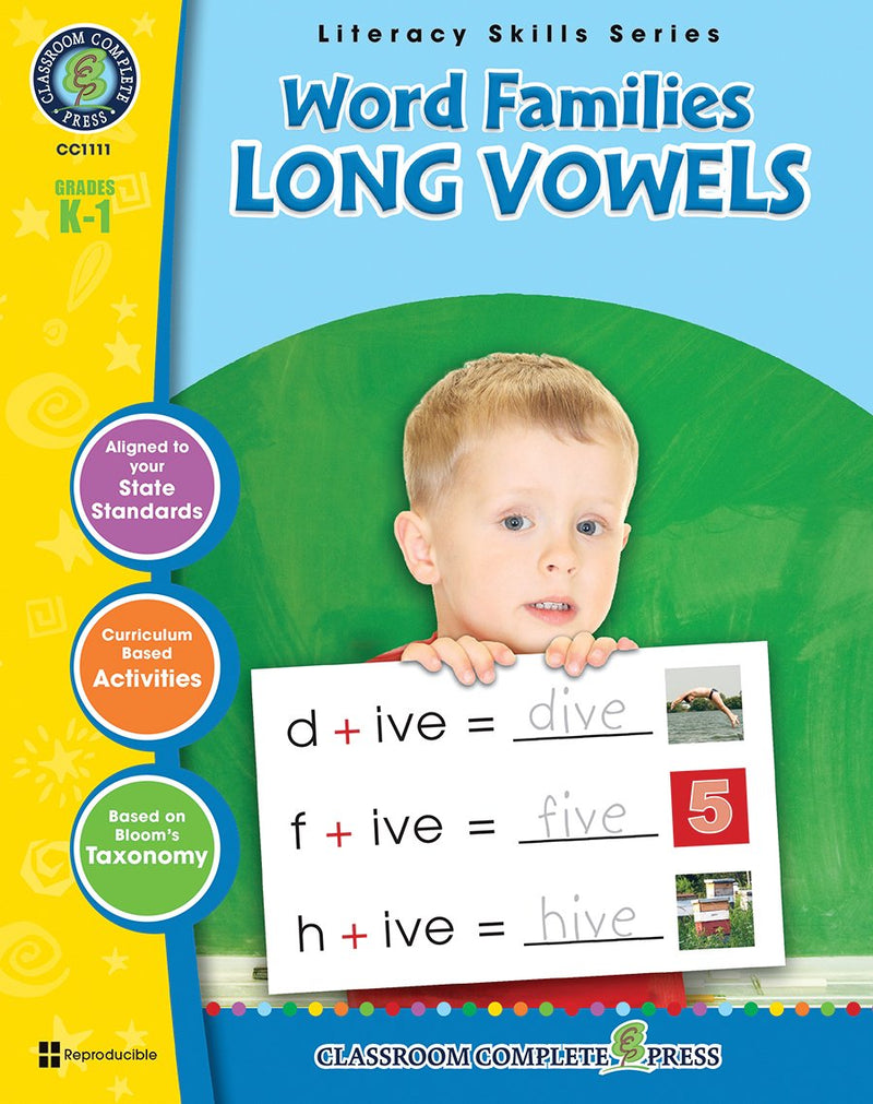 Word Families - Long Vowels