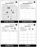 High Frequency Picture Words - BONUS WORKSHEETS