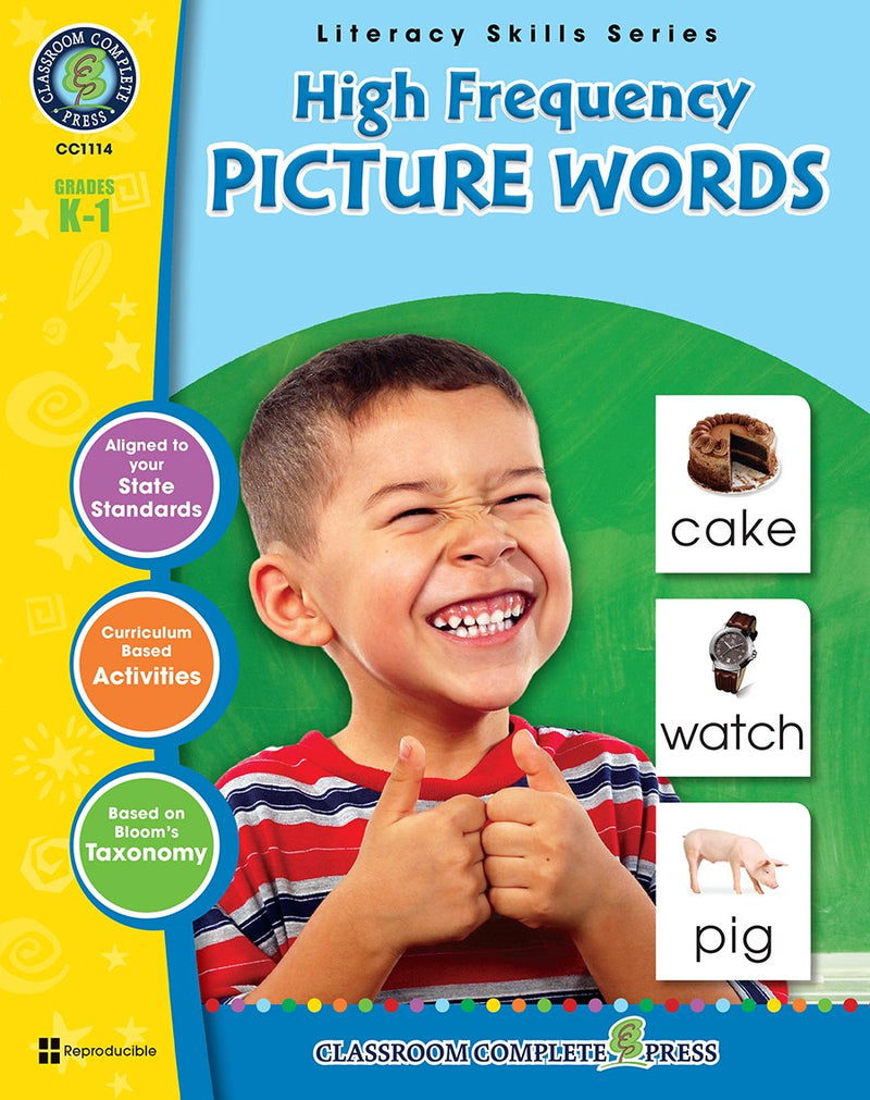 High Frequency Picture Words