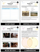 The Adventures of Huckleberry Finn - BONUS WORKSHEETS