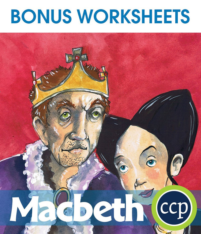 Macbeth - BONUS WORKSHEETS