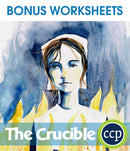 The Crucible - BONUS WORKSHEETS