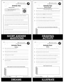 Where the Wild Things Are - BONUS WORKSHEETS
