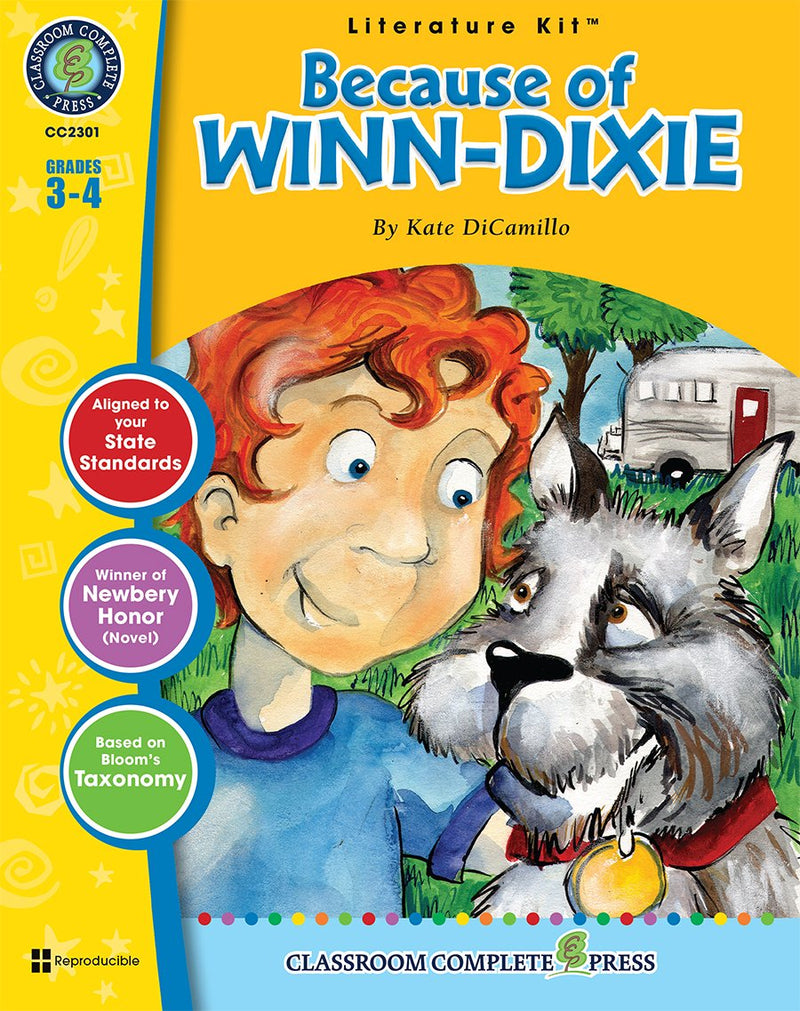 Because of Winn-Dixie (Kate DiCamillo)