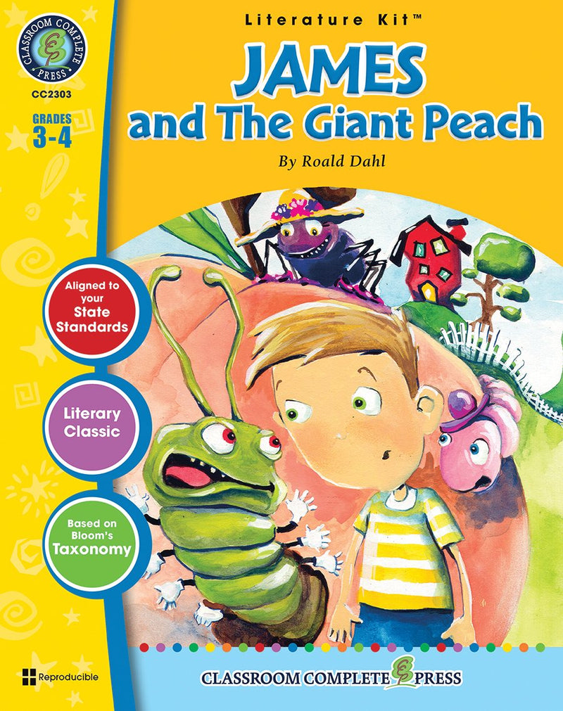 James and the Giant Peach (Roald Dahl)