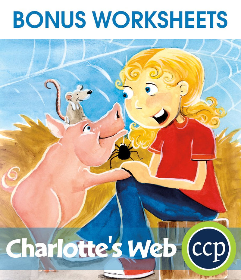 Charlotte's Web - BONUS WORKSHEETS