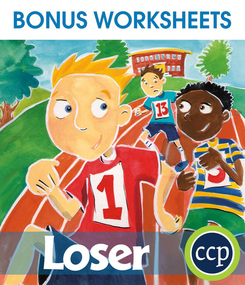 Loser - BONUS WORKSHEETS