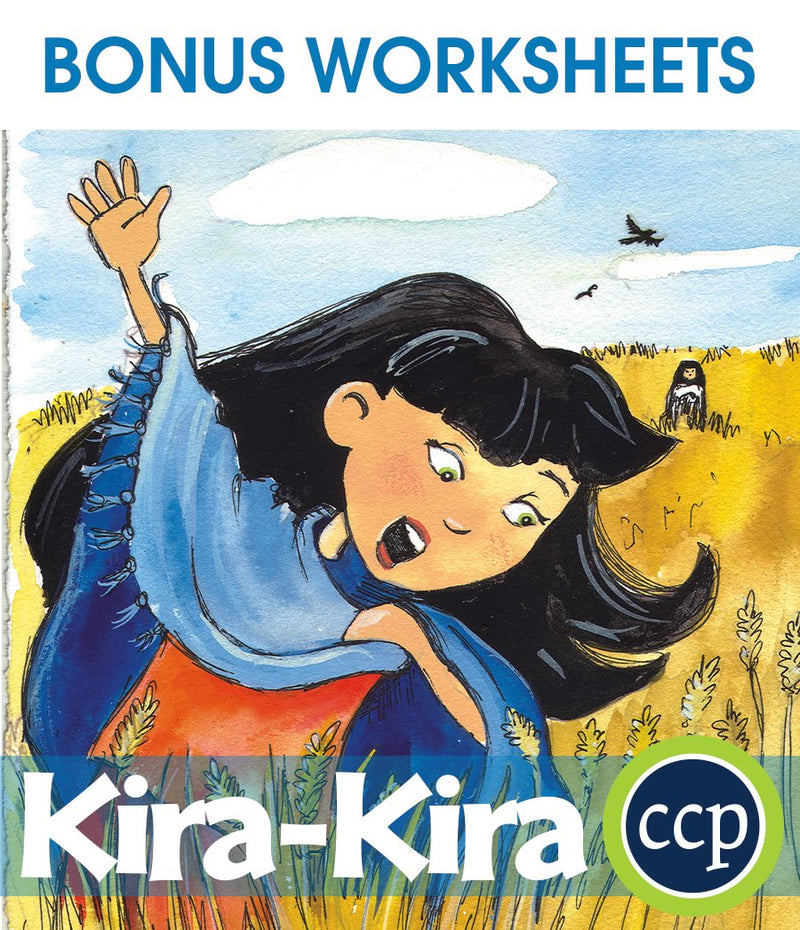 Kira-Kira - BONUS WORKSHEETS