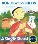 A Single Shard - BONUS WORKSHEETS