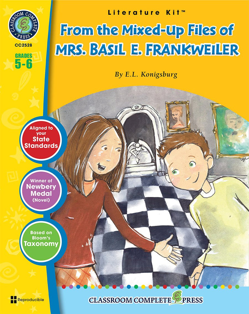 From the Mixed-Up Files of Mrs. Basil E. Frankweiler (E.L. Konigsburg)