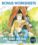 My Side of the Mountain - BONUS WORKSHEETS